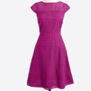 J. Crew Purple Dress